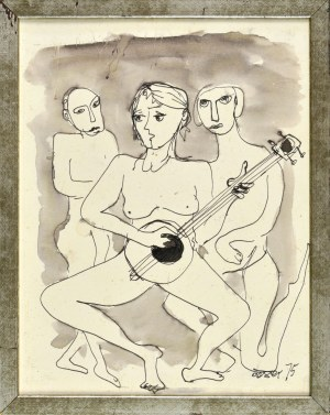Otto AXER (1906-1983), Trio, 1975