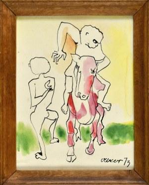 Otto AXER (1906-1983), Kompozycja, 1973