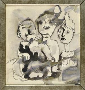 Otto AXER (1906-1983), Kompozycja, 1980