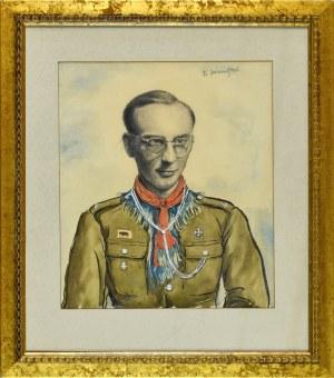 Franciszek JAŹWIECKI (1900-1946), Portret Wróblewskiego, 1945