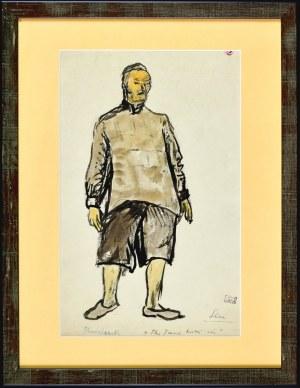 Otto AXER (1906-1983), Kowlczyk - projekt kostiumu