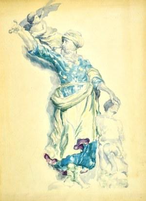 Józef PIENIĄŻEK (1888-1953), Kompozycja, 1939
