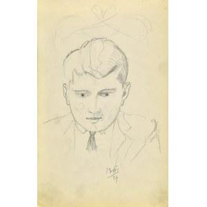 Stanisław ŻURAWSKI (1889-1976), Popiersie mężczyzny, 1924