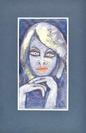 Eugeniusz TUKAN - WOLSKI (1928-2014), Portret kobiety