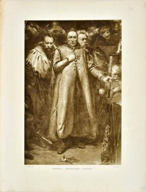 Jan MATEJKO (1838 - 1893), Radziwił – Zebrzydowski - Stadnicki