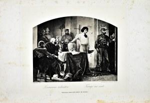 Artur GROTTGER (1837-1867), Losowanie rekrutów