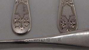6 łyżeczek srebro 800 47 g