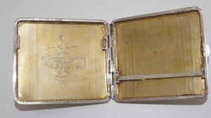 papierośnica, srebro 110g