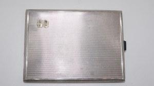 papierośnica, srebro 135g