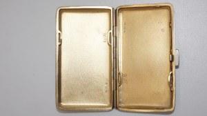 papierośnica, srebro 69g