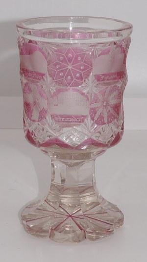 Kielich szklany 15,6 cm