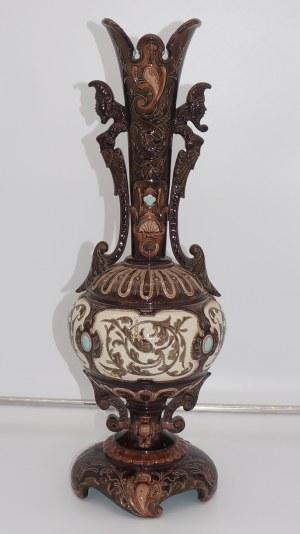 wazon majolikowy 19 w.