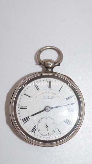 zegarek kieszonkowy J. G. Graves Sheffield