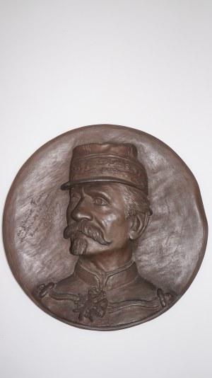 F. Barbedienne, plakieta z brązu, Francja 19 w.