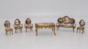 Reuge Ste-Croix, miniatury mebli z pozytywką