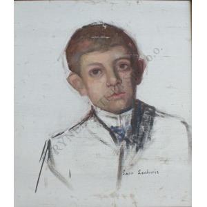 Leon Lewkowicz (1888-1950), Portret chłopca