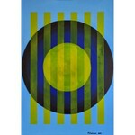 Andrzej Grabowski (ur. 1962), Blue Circle, 2021