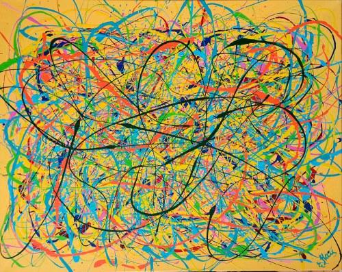 Ewa Najdenow (ur. 1967), Emocje gorącego lata, 2020