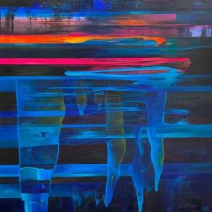 Katarzyna Buchalik (ur. 1978), Underwater neon lights, 2021