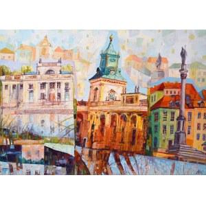 Dariusz Piekut (ur. 1959), Bajkowa Warszawa IX, 2021