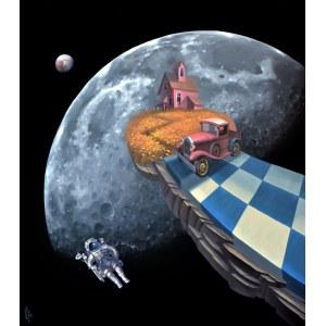 Paweł Aleszkiewicz (ur. 1991), Moon, 2021