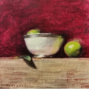 Robert Drabarek (ur. 1969), Martwa natura z limonką, 2021