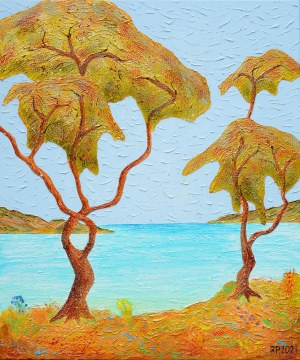 Robert Piasecki (ur. 1959), A Warm Ocean Breeze, 2021