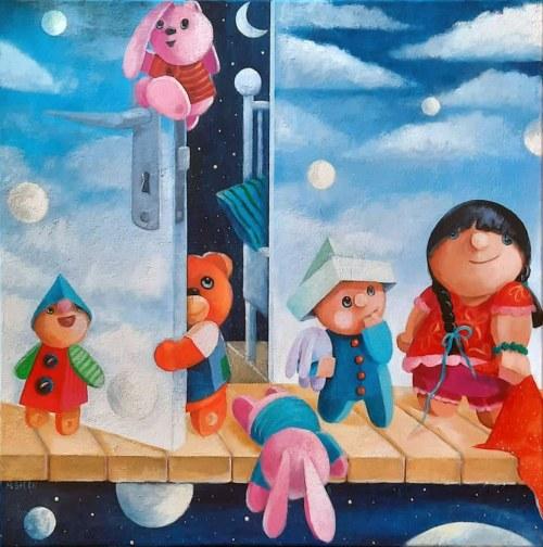 Mirella Stern (ur. 1971), Pomiędzyświaty, 2021