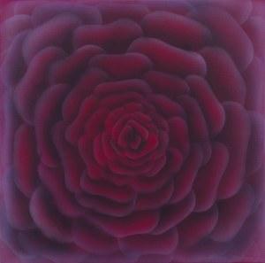 Hanna Rozpara (ur. 1990), Bordowa róża, 2021