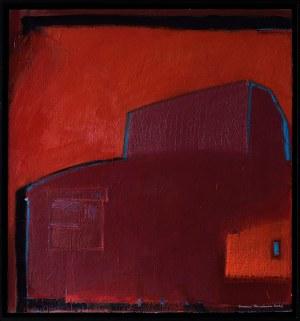 Iwona Stachura (ur. 1968), Recykling szkicu. Różowy 1, 2021