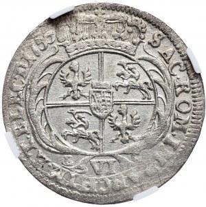 August III, szóstak 1755, Lipsk