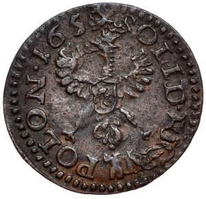 Jan Kazimierz, szeląg koronny 1659, Ujazdów