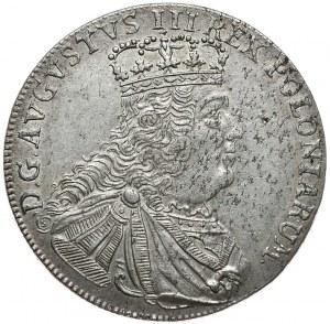 August III, tymf 1753, Lipsk, litera S pod popiersiem