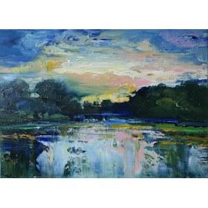 Jagoda Kaczmarczyk-Hudzik (ur. 1966), Blueberry landscape, 2020
