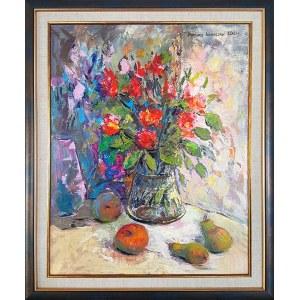 Barbara Kowalska (ur. 1953), Kwiaty i owoce, 2021