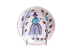 Talerz dekoracyjny - Zakłady Ceramiczne