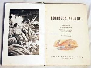 DEFOE - ROBINSON KRUZOE ryciny OPRAWA