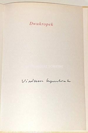 SZYMBORSKA - DWUKROPEK autograf autorki