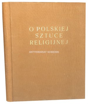 LANGMAN - O POLSKIEJ SZTUCE RELIGIJNEJ