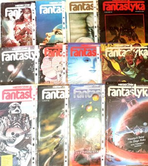 FANTASTYKA. Miesięcznik literatury SF. R.4 nr 1-12/1985