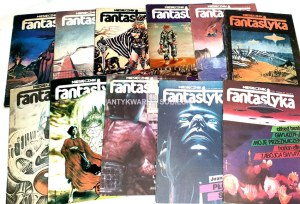 FANTASTYKA. Miesięcznik literatury SF. R.2 nr 1-12/1983