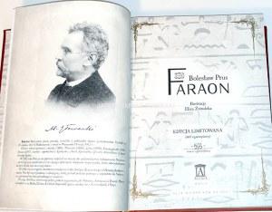 PRUS - FARAON skóra ilustracje Eliza Żmudzka
