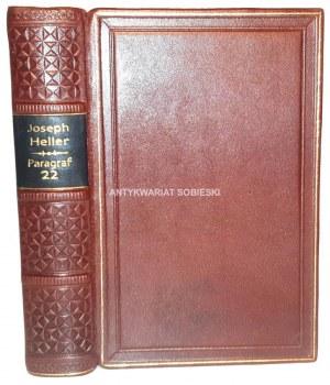JOSEPH HELLER - PARAGRAF 22 wyd.1, skóra