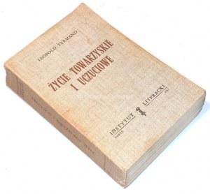 TYRMAND - ŻYCIE TOWARZYSKIE I UCZUCIOWE Paryż 1967
