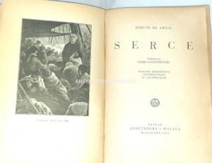 AMICIS- SERCE wyd. 1939