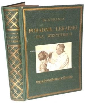 FRANCK- PORADNIK LEKARSKI DLA WSZYSTKICH wyd. 1932