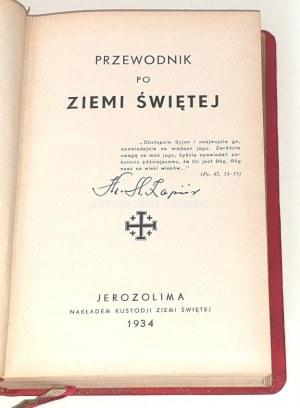 PRZEWODNIK PO ZIEMI ŚWIETEJ 1934r.