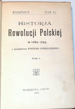 HISTORJA REWOLUCJI POLSKIEJ t. 1-2 [komplet w 1wol.]