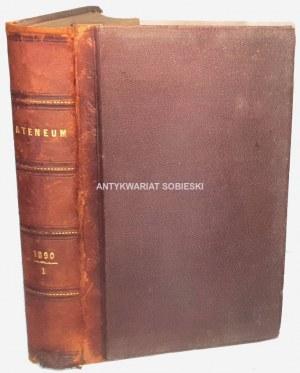 ATENEUM 1890 tom I