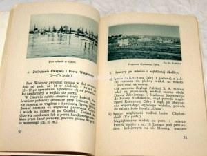 GDYNIA I WYBRZEŻE Przewodnik ilustrowany z 2 mapkami 1933r.